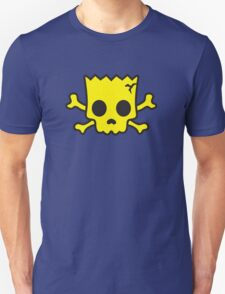 yellow Skull Unisex T-Shirt