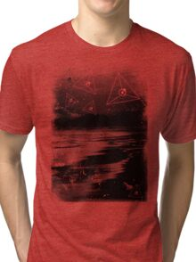 Floating Triangle Tri-blend T-Shirt