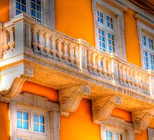 the guitar player balcony.... by terezadelpilar~ art & architecture