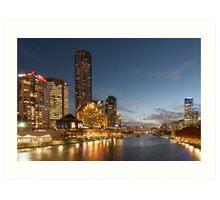 Yarra River Melbourne Art Print