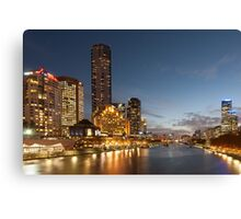 Yarra River Melbourne Canvas Print
