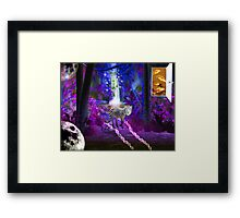 A walk to nowhere Framed Print