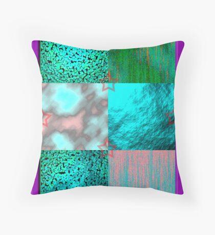 Texture World Throw Pillow
