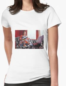 Jessica Reading version 2 Womens Fitted T-Shirt