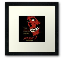 The Red Skull Strikes Again Framed Print