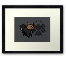 Pig Fury Framed Print