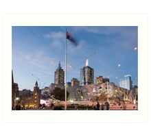 Federation Square Art Print