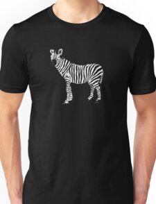 a zebra t-shirt Unisex T-Shirt