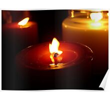 Holiday Candles Poster