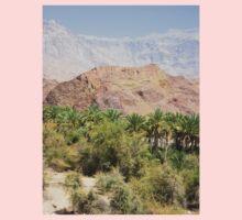 an awe-inspiring Oman landscape Kids Tee