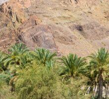 an awe-inspiring Oman landscape Sticker