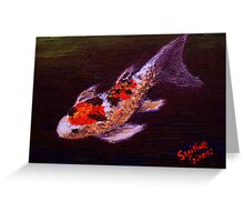 Koi Number Six Greeting Card