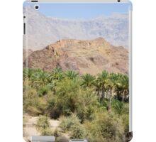 an awe-inspiring Oman landscape iPad Case/Skin