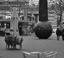 Empty Chairs At Empty Table by metronomad