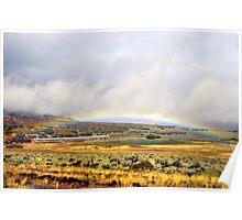 Low Rainbow Poster