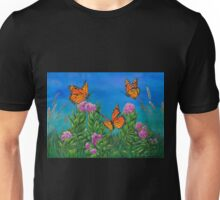 """Bouquet with Butterflies"" Unisex T-Shirt"