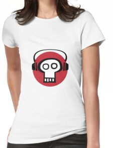 Here's a bone for the audiophiles. Womens Fitted T-Shirt
