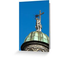 Sitting Christ Greeting Card
