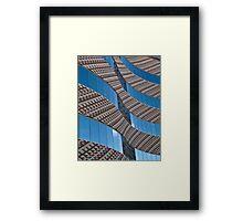 Swirl of bricks and glass Framed Print