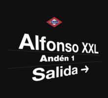 Alfonso XXL, Madrid (Versión osucura) by redretro