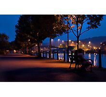 Sitting On A Dock Photographic Print