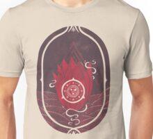 Pulsatilla Patens in Red Unisex T-Shirt