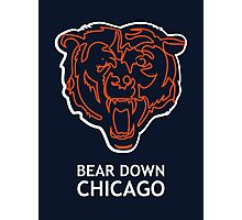 Bear Down Chicago Photographic Print