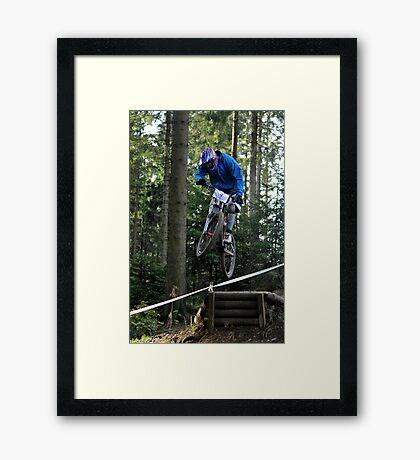 Fast Air in Winterburg Framed Print