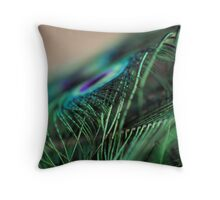 Superb Feathers Throw Pillow