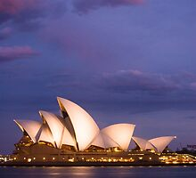 Sydney Opera House by Mark Eden