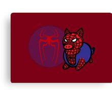 Spider Ham Canvas Print