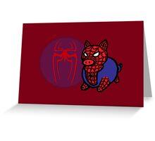Spider Ham Greeting Card