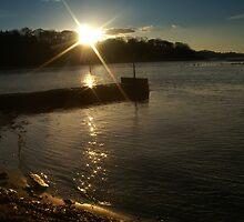 Sunset Over Cramond by Nik Watt
