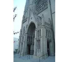 Grace Gothic Cathedral in San Francisco Photographic Print