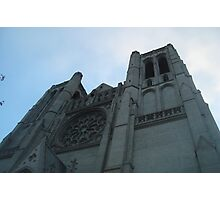Looking Toward the Heavens, Grace Gothic Cathedral, San Francisco Photographic Print