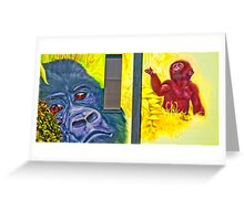Valley Walk - Apes Greeting Card