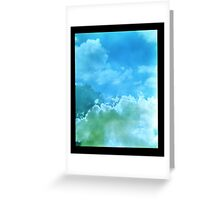Out of the Clouds Greeting Card