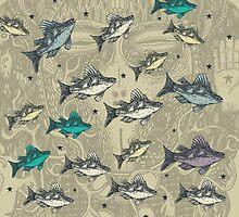 Flying Fish Khaki by pingdf