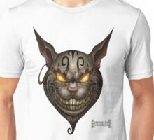 Evil Cheshire Cat Unisex T-Shirt