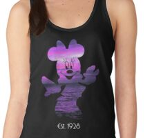 Minnie Mouse at Sunset Women's Tank Top