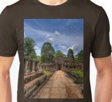 a historic Cambodia landscape Unisex T-Shirt