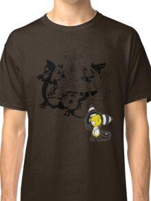 Music Demon (Black Outline) Classic T-Shirt