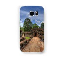 a historic Cambodia landscape Samsung Galaxy Case/Skin