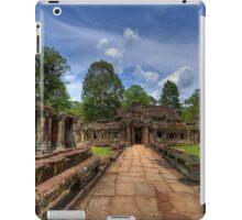 a historic Cambodia landscape iPad Case/Skin