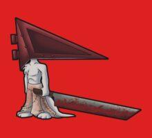 Pyramid Head Kitty One Piece - Short Sleeve