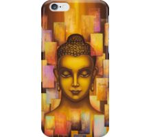 Buddha. Rainbow body iPhone Case/Skin