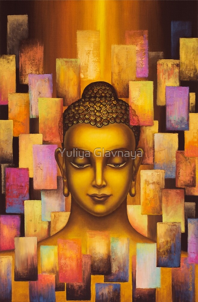 Buddha. Rainbow body by Yuliya Glavnaya