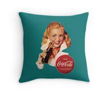Coca-Cola German Model #5 Throw Pillow