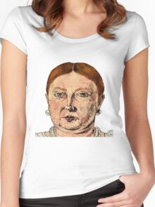 Queen Vic Women's Fitted Scoop T-Shirt