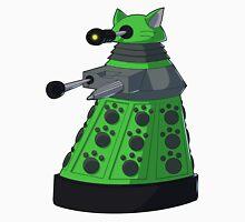 Green Kitty Dalek Unisex T-Shirt